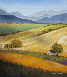 A Little Landscape by Hannes Scholtz