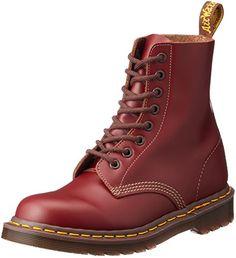 74c46f575aa7e Dr. Martens Vintage 1460 Boot,Oxblood,UK 6 (US Women s 8 M, US Men s 7 M)