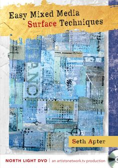 Easy Mixed Media Surface Techniques with Seth Apter on sale for $12.50 at NorthLightShop.com #Resolve2Save