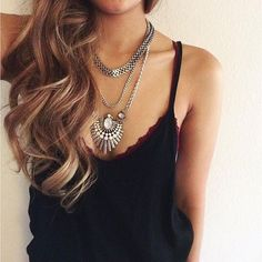 What do you think about this necklace?   Shop here ➡  #necklace #love #jewelry
