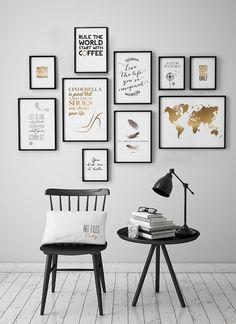 Wall art Prints Multi Print Discount Set of 10 by ArtFilesVicky