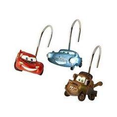 Jay Franco U0026 Sons Disney Pixar Cars Set Of 12 Shower Curtain Hooks