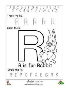 Letter r printables for preschoolers poemdocor letter r preschool worksheets learning ibookread Download