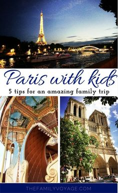 Are you visiting Paris with kids? Read on for 5 top tips for your family trip to Paris. Learn all about visiting the Eiffel Tower with kids, the Paris Museum Pass, things to do in Paris with kids, Paris inspiration for kids and more! The Louvre   Musee d'Orsay   L'Orangerie   crepes   macarons   kids books about Paris   stroller   family-friendly Paris activities   Paris activities with kids   things to do in Paris France   Paris family vacation   Paris France travel   Paris famous landmarks