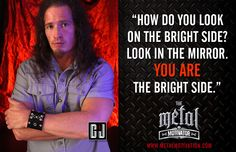 You are your best solution #metalup