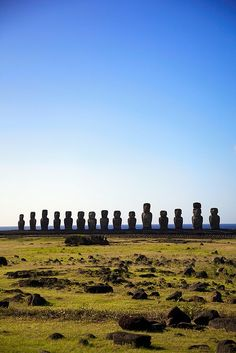 Easter Island (Rapa Nui) - Chile Uruguay, Travel Around The World, Places Around The World, Travel Destinations, Places To Travel, Oh The Places You'll Go, Places To Visit, Easter Island, Le Sud