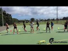 CAPTeam- Netball Team: What does a Netball Team training look like? - YouTube