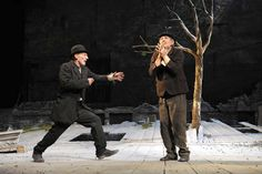 Sir Patrick Stewart and Sir Ian McKellen in another of my fave Beckett plays 'Waiting for Godot' Ronald Pickup was awesome as 'Lucky' too.