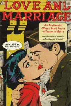 comics, romance stories