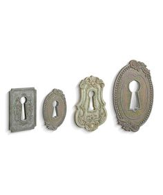 Another great find on #zulily! Keyhole Wall Art Set #zulilyfinds