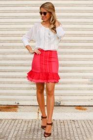Marina-Casemiro-Irá-Oficial-atacado-bom-retiro-look-do-dia-look-da-noite-vestido-azul-vestido-preto-franjas-e-tachas-saia-p-e-branca-blusa-com-couro-saia-pink-e-blusa-renda-verão-2-2
