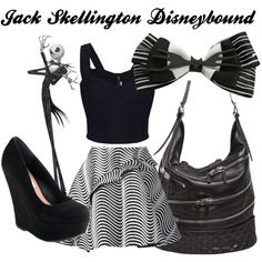 Jack Skellington Disneybound