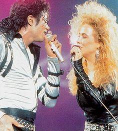 Michael Jackson and Sheryl Crow