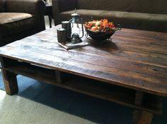 Handmade Rustic Pallet Coffee Table