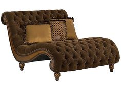 Leather Double Chaise Lounge - Foter  sc 1 st  Pinterest : double chaise lounges - Sectionals, Sofas & Couches