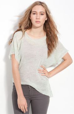 lightweight linen sweater from free people