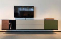 Modern Floating TV Units – Vurni Floating Entertainment Unit, Floating Tv Unit, Modern Tv Units, Tv Unit Design, Modern Design, The Unit, Living Room, Cool Stuff, Interior