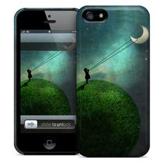 Chasing the Moon iPhone Case, $25, now featured on Fab.