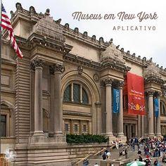 Vários museus em New York possuem seu próprio app como o MoMA, Guggenheim, Met,  Whitney Museum e American Museum of Natural History. Todos muito úteis!!!  Mas porque não usar um só app?