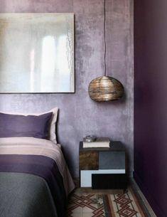 11 images inspirantes de chambre violet moderne - Projet pro 2 ...