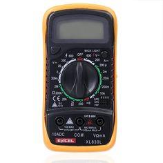 EXCEL XL830L LCD Digital Volt Meterr Ohm Meter Ammeter OHM Multi Meters Tester