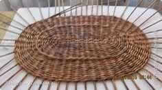Мастер-класс Поделка изделие Плетение МК - овальное дно по-Ильфатовски Бумага газетная фото 1