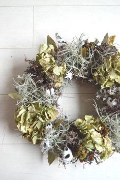 Men's like #wreath