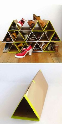 Cardboard Storage...not just shoes