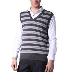 Men's Casual Vest Sweater
