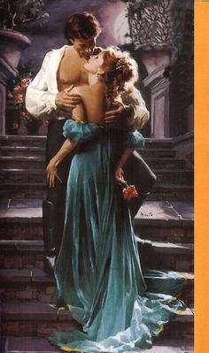 Artist: Doreen Minuto - stepback for A Gentleman's Honor (Bastion Club, by Stephanie Laurens. Historical Romance Novels, Paranormal Romance Books, Romance Novel Covers, Romance Art, Fantasy Romance, Stephanie Laurens, Fantasy Couples, Romantic Pictures, Book Cover Art
