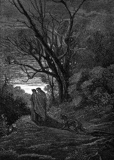 Gustave Doré Illustration - Inferno Canto 1, 11