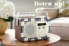 What a great radio Evoke radio designed by @OrlaKiely shown on @decor8