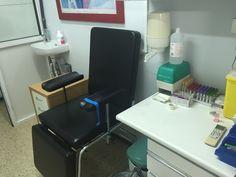 Sala de Extracción en LGS en Hospital Santa Cruz.