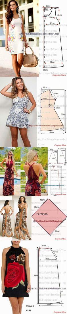 Interesante al modelo y los patrones simples - 4 - de la alumna - en los profesionales de la costura. - el país de las Mamás