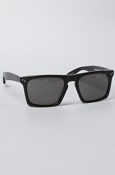 e3c409cd25f Mosley Tribes The Lyndel Sunglasses in Black   Grey The Lyndel Sunglasses  feature square tinted lenses with plastic frames. By Mosley Tribes