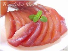 「洋梨の赤ワイン煮」ぴいちゃん+(ぴいちゃんぷらす) | お菓子・パンのレシピや作り方【corecle*コレクル】