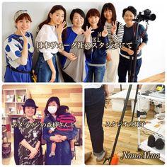 日本ヴォーグ社スタジオにて、とある撮影をして参りました。  上の写真は 左からヘアメイクの岡さん、モデルの松永ちさとさん、ナナアクヤ、担当編集の佐伯さん、スタイリストの絵内さん、カメラマンの白井さん  左下写真はプロセス撮影カメラマンの森村さんが、立川のオリオン書房でプラバンワークショップに来ていただいた際に撮影。  今回の企画も、制作チームは全員女性でした。  その成果は6月下旬頃にお披露目できる予定です。  それぞれの分野のプロフェッショナルがひとつのプロジェクトをつくる工程は楽しいです。 何かひとつのものを一緒につくると、一気に人と人の距離が縮まるのは不思議ですね。  だから私はワークショップというものが好きなのかもしれません。