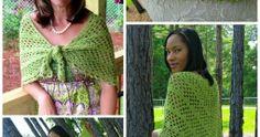 Dixie Charm - A Free Summer Crochet Shawl Pattern