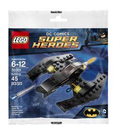 DC Comics Super Heroes LegoBatwing 30301 Lego Batplane #LEGO
