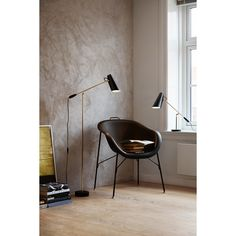 Birdy gulvlampe, svart – Northern Lighting – Kjøp møbler online på ROOM21.no