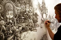 Amazingly Detailed Artwork by Joe Fenton - Fine Art Blogger