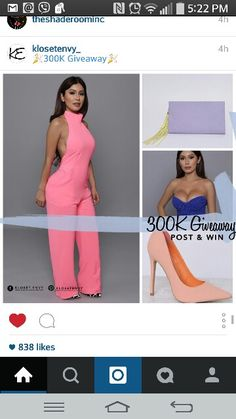 IT'S GIVEAWAY TIME Follow Us on Facebook & Pinterest for details on our 300K Giveaway!  We will be giving away ✨Two $300 Kloset Envy Gift Cards & Three $30 Kloset Envy Gift Cards✨ Comment below when you're done ☺️ ✨TODAY IS THE LAST DAY TO ENTER✨ WINNERS will be randomly selected from Facebook & Pinterest and will be announced Wednesday April 29 2015. *Entries are only valid on Facebook & Pinterest* Good Luck! #KE300kGiveaway #KlosetEnvy #BeTheEnvy