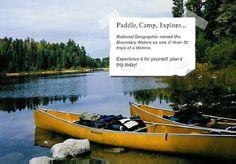 Paddle camp explore