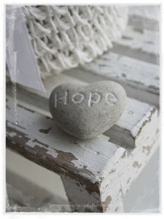 HOPE, the biggest 4-letter word I know...