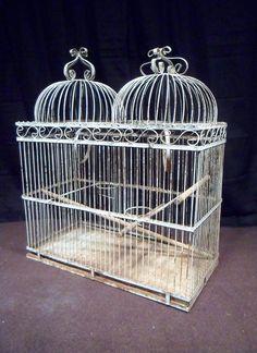 Love bird cages, especially victorian ones :)