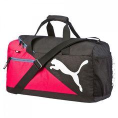 ca3ee30d4f modeherz ♥ PUMA Fundamentals Sports Bag S Rose Red ♥ 073499 06  modeherz   Sporttasche  Puma  Sport