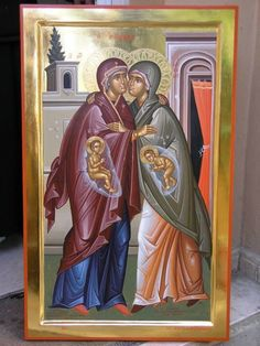 Religious Pictures, Religious Icons, Religious Art, Orthodox Prayers, Orthodox Christianity, Byzantine Icons, Byzantine Art, Faith Of Our Fathers, Blessed Mother Mary