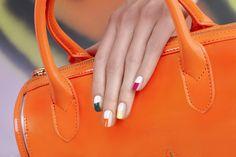 Colorful Tips by JINsoon | Sephora Beauty Board #Sephora #nailart