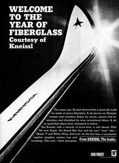 SKIING Nov 1968 - Kneissl - pugski