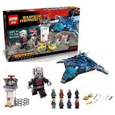 858Pcs LEPIN 07034 Avengers Super Hero Airport Battle Model Building Kit Minifigure Ant Man Iron Man Blocks Toy Compatible Legoe-in Blocks from Toys & Hobbies on Aliexpress.com | Alibaba Group